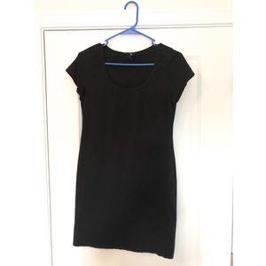 Juniors fitted mini dress